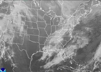 Atlantic Satellite View