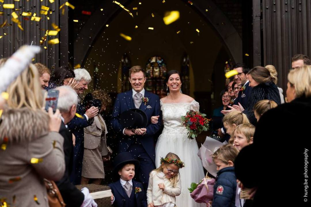 trouwdag jozefien jeroen december winterwedding