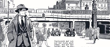 """Wer vom TV-Serienhit """"Babylon Berlin"""" noch nicht genug hat, kann Volker Kutschers Berlin der 1920er-Jahre auch im Comicformat genießen."""