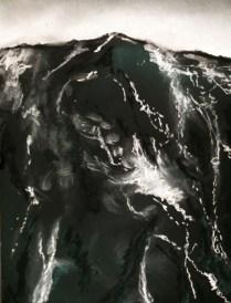 140 x 110 cm - Pastel sec