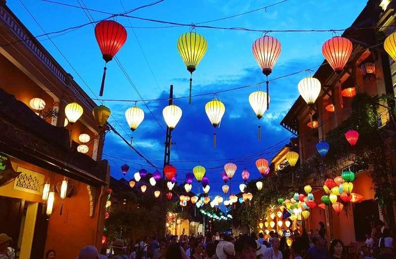 Mid-Autumn Festival in Hoi An, Vietnam
