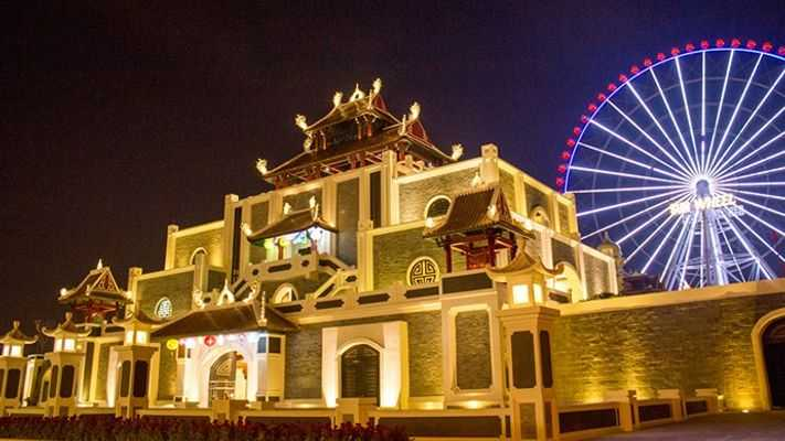 Sun World Danang Wonders is not only a unique game and architecture, but also the largest amusement park in Vietnam
