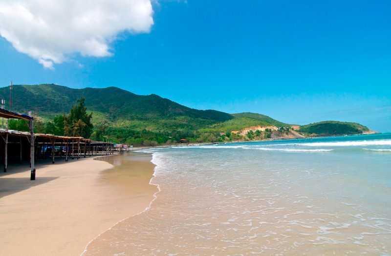 Bai Tru Beach in Nha Trang