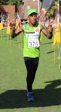MADE IT: Old Mutual AC's Patricil Makasi achieved 5th place overall at the Washie with a time of 18hr 19min 04sec