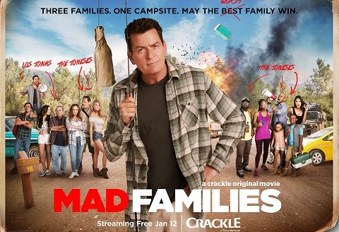Crackle: Mad Families, Key Art