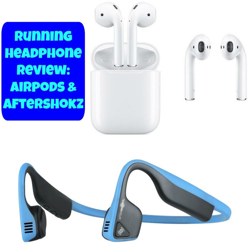 Running Headphones Review: Apple AirPods and Aftershokz Trekz