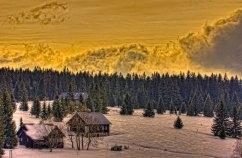 Winter by Filipova Hut