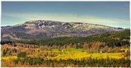 Plechy mountain from Zelnava