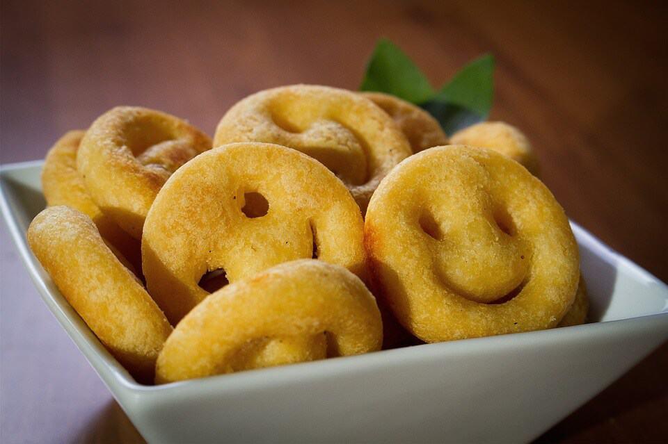 Potato Smiley Recipe