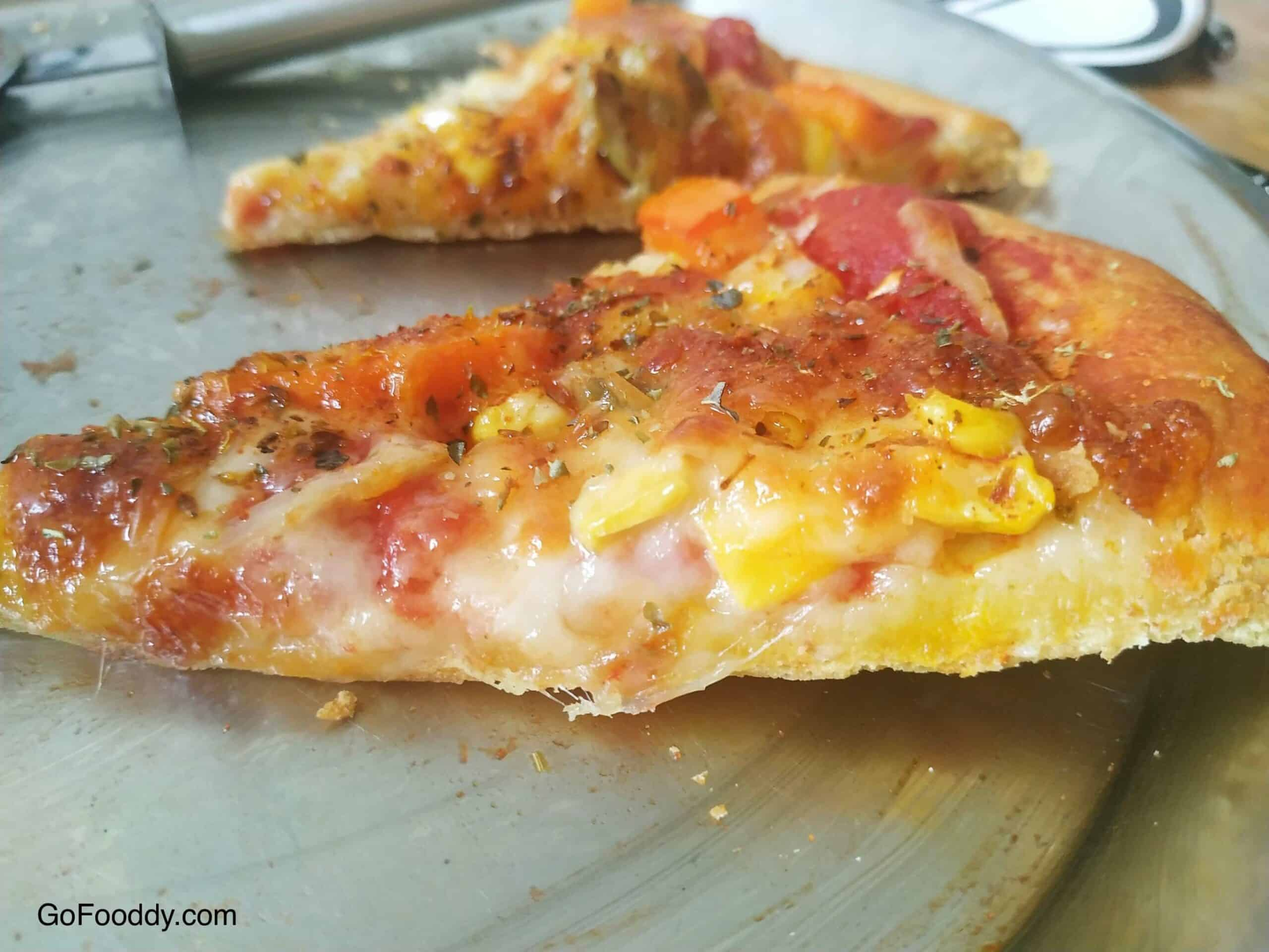 Thin Pizza Crust recipe