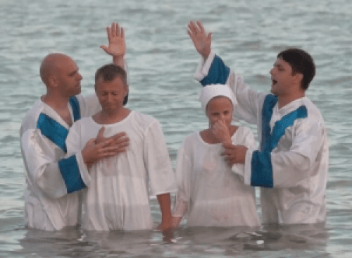 Baptism of followers of Jesus in Ukraine