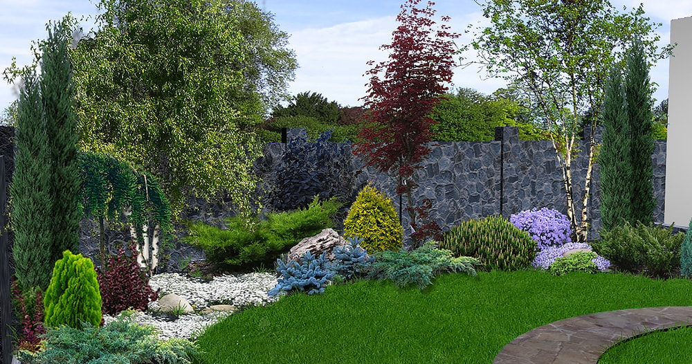 8 Incredible Landscaping Ideas for small front yards on a ... on Cheap Backyard Ideas For Small Yards id=66930