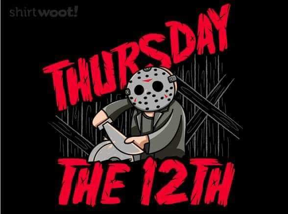 When the next Friday the 13th will be … (ch ch cha cha)