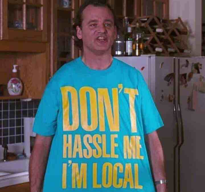 Don't Hassle GoGetFifed, It's a Local! Happy 30 yrs to What About Bob!