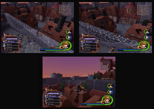 Invisible Heartless Hollow Bastion