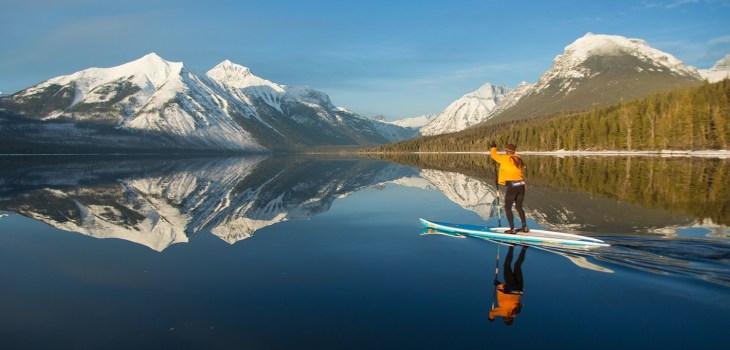 glacier paddleboard, glacier paddleboard rental, apgar campground, fish creek campground, Lake mcdonald, glacier, glacier park,Stand Up Paddleboard Rental Glacier National Park