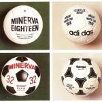 Voetballen uit de jaren '60 en '70
