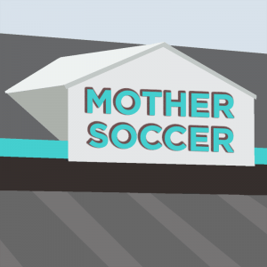 MotherSoccer logo voorstel gebaseerd op een Gable