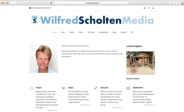 Wilfred Scholten media website