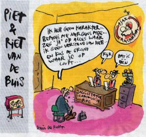 Hein de Kort, bron: het Parool 11 februari 2012