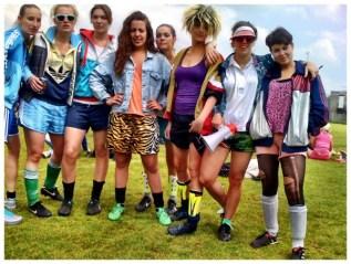 Het damesteam van Maaskantje was er ook