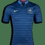 Frankrijk thuis shirt