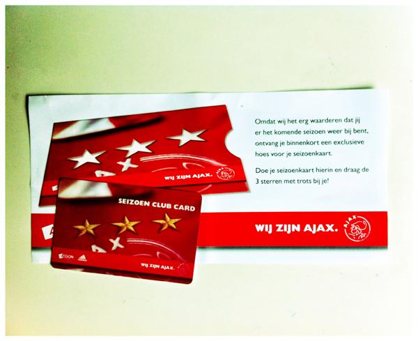 Ajax Seizoenkaart