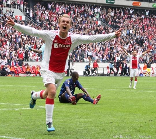 Ajax Toppers 2012-2013: Siem De Jong