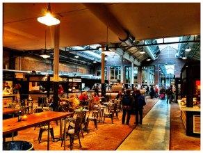 Foodhallen in de Hallen Amsterdam West