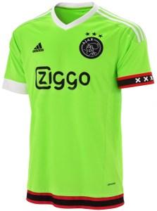 Ajax uitshirt 2015-2016: ajaxshop.nl