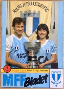 Malmö FF-Ajax 1987 programma