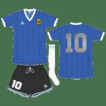 Argentinie-Engeland Worldcup1986