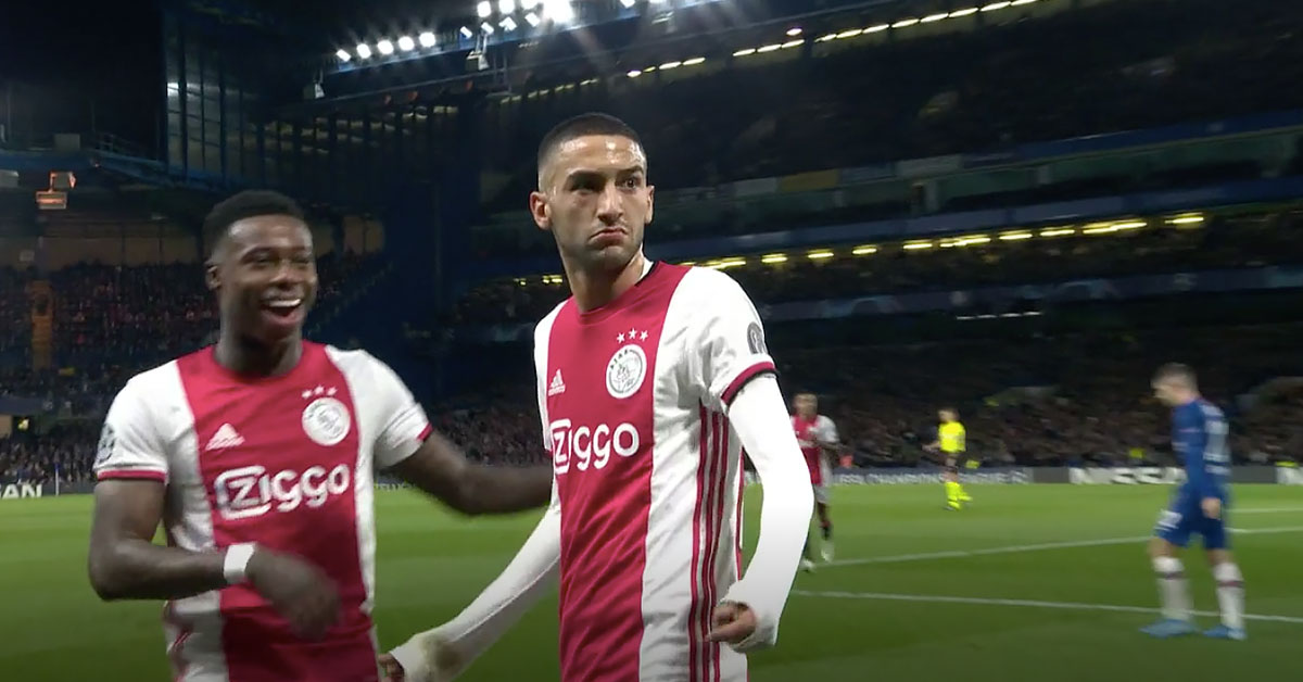 Chelsea-Ajax 5 november 2019