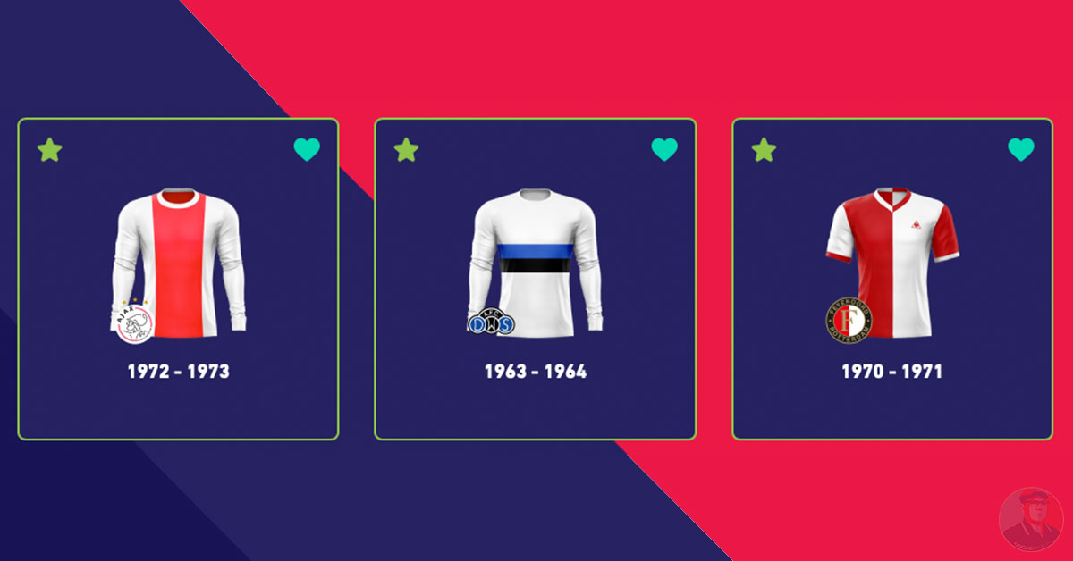 Eredivisie Shirtfestival Top 3