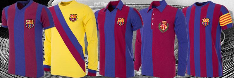 FC Barcelona retro collectie van COPA Football