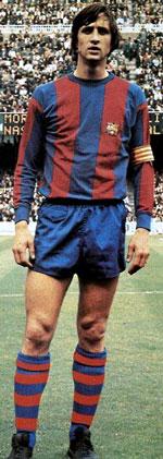 Voetbalbroekzakken Cruijff bij FC Barcelona