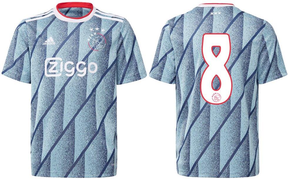 Ajax uitshirt 2020-2021