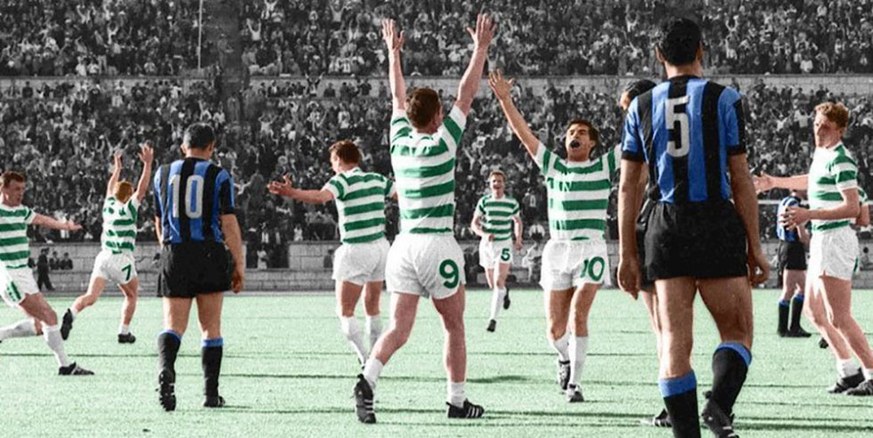 Europacup finale 1967 Celtic-Inter