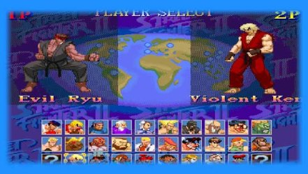 Super Street Fighter II X Grand Master Challenge - Mugen