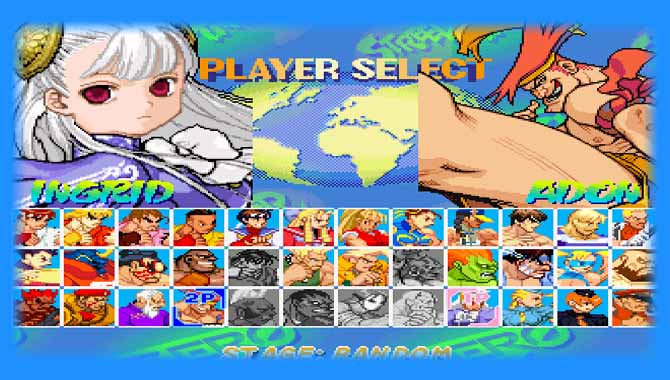 Games like Street Fighter 2 CE