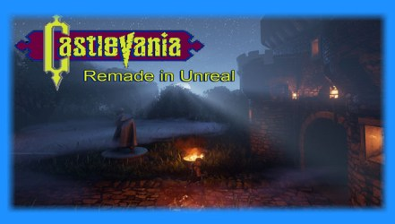 Castlevania Remade in Unreal - Demo Download | GO GO Free Games