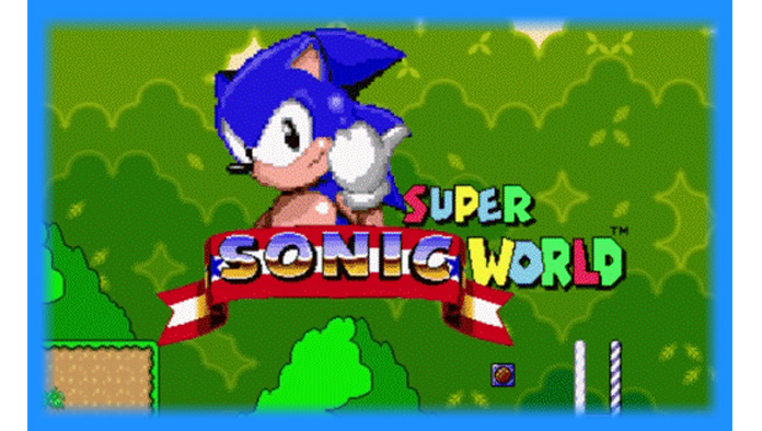 Super Sonic World (SNES) - Hack Download