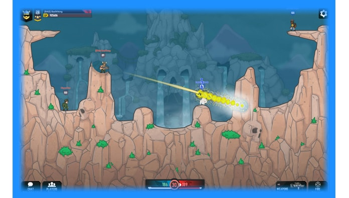 Broken Ground is a multiplayer artillery game from the creators of Bad Eggs  Online. Team up with friends (or go solo if you prefer) and wield an  impressive ...