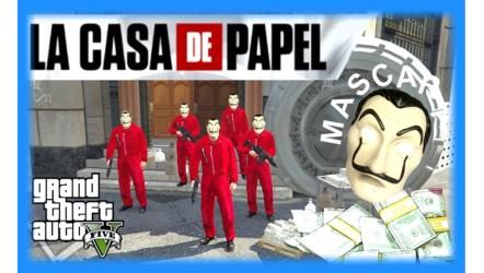 GTA 5 La Casa de Papel (PS2) - Mod Download | GO GO Free Games