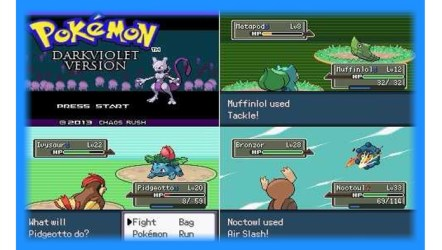 Pokemon Dark Violet (GBA) - Hack Download   GO GO Free Games
