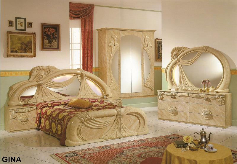 Furniture in brooklyn at gogofurniture com GINA BEDROOM SET BY GLASS FORM COLLECTION