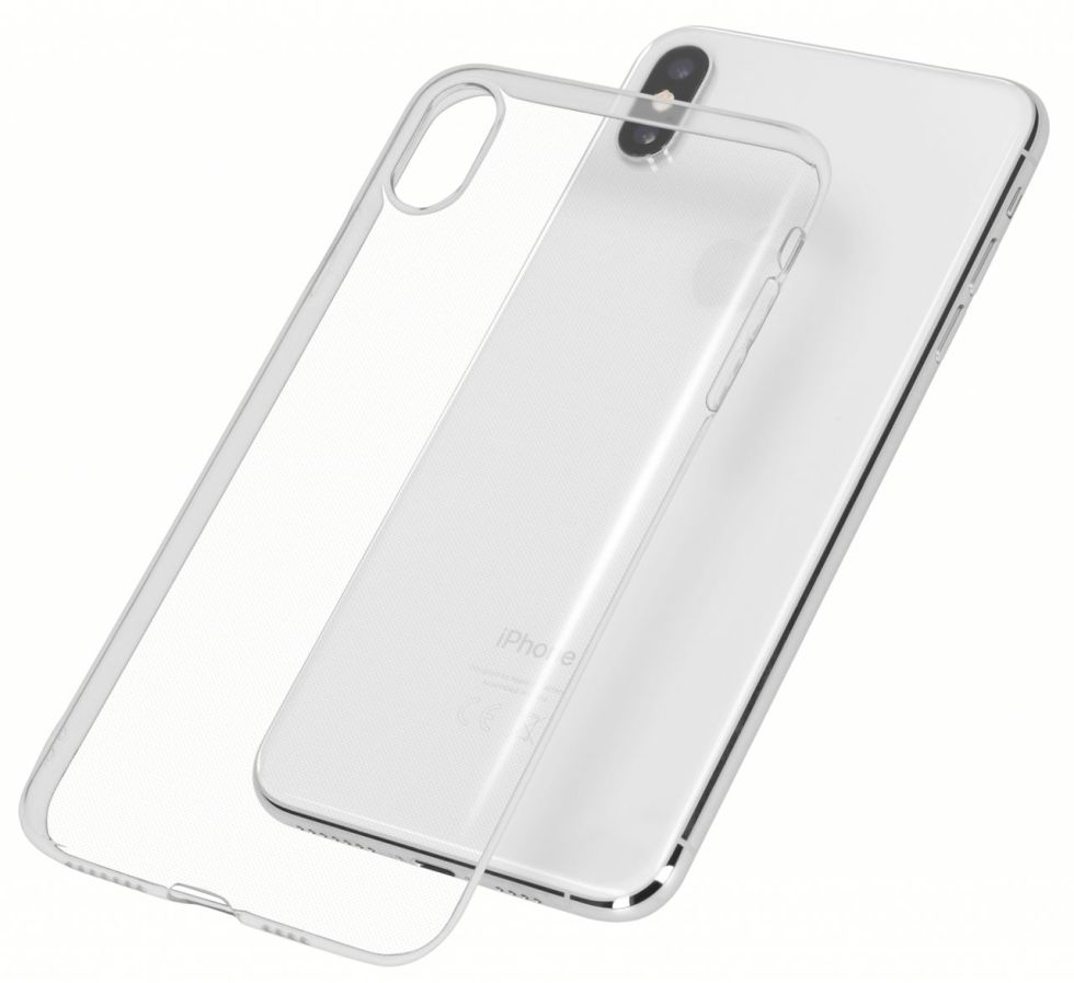 iPhone X Cover Superslim 0,75mm flexibel