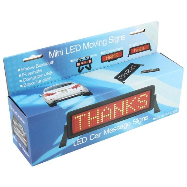 Programmierbare LED Anzeige fürs Geschäft, Bremslicht fürs Auto