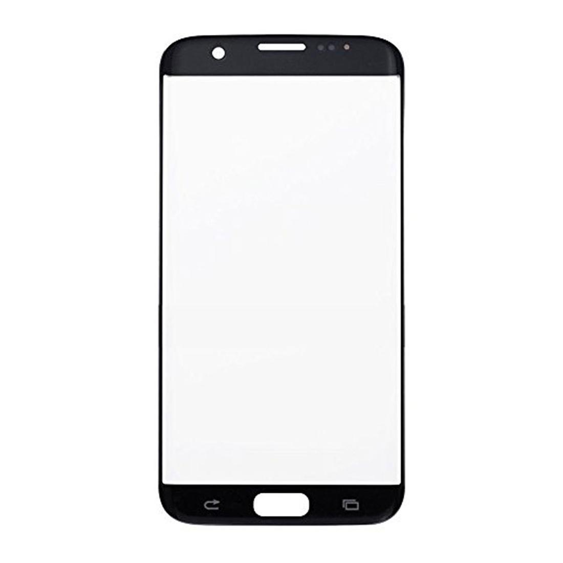 Samsung Galaxy S7 Edge G935 Front Screen Glas Linse Schwarz 128 Gb