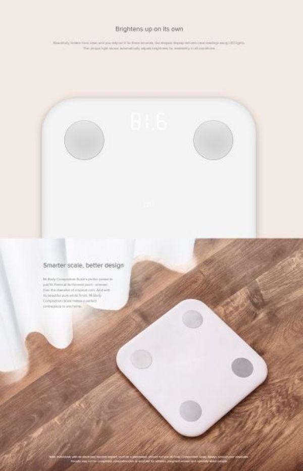 Xiaomi Körperwaage Smart Scale Android und iOS Global Version